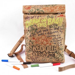 paper bag / graffiti bags / graffiti backpack