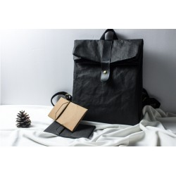 Waterproof paper backpack / backpack made of paper